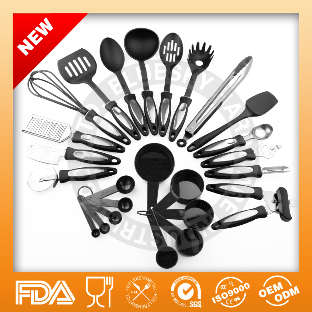utility durable kitchen utensils brands for food preparation