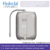 Japanese with english language touch panel alkaline water filtration system
