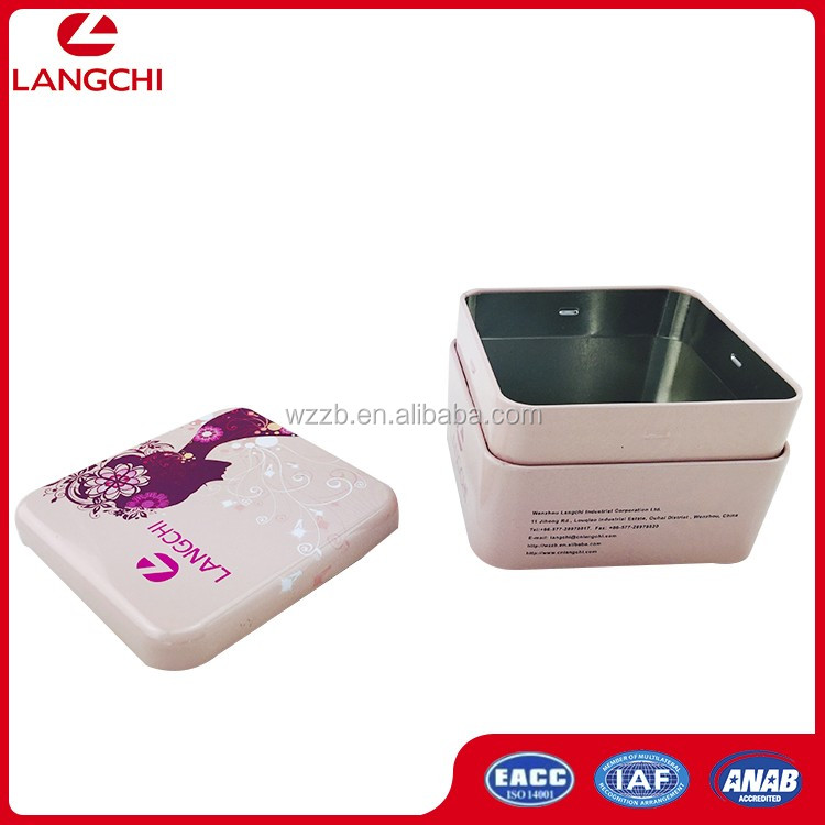 Cake Metal Case ,Metal Candy Box