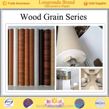 wood grain paper for MDF boards lamination(cold press)2018