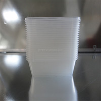 disposable pp plastic food container with sealable pp storage container