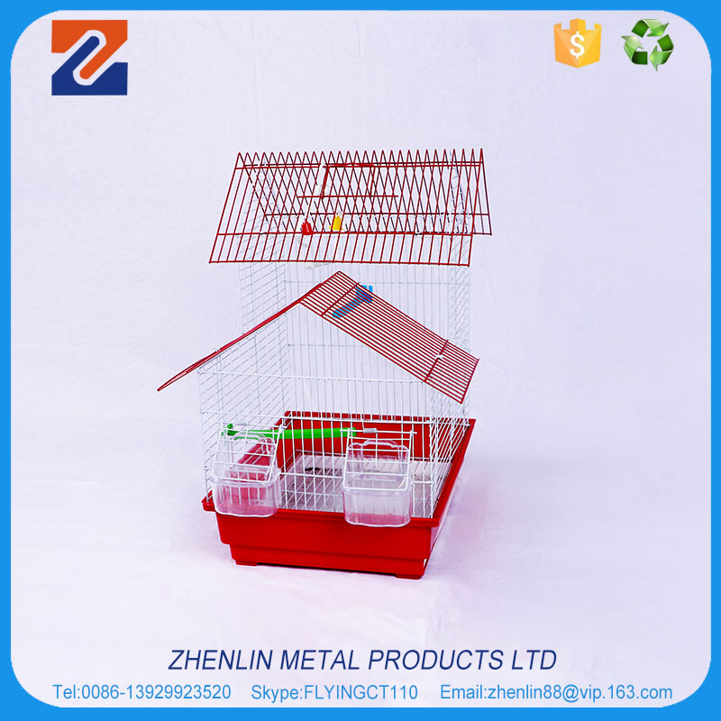 China supplier wall mount big bird cage wire mesh materials
