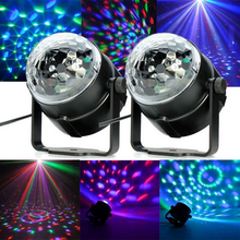 Cheap Price 3W RGB Colorful LED Crystal Magic Ball Effect Disco Stage Lighting