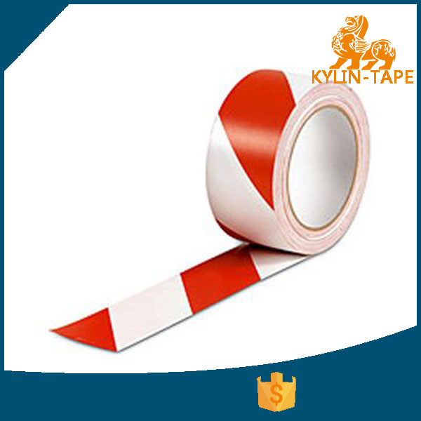 Hard-wearing ground used pvc warning tape floor marking tape