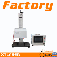 Promotion dot pin marking machines for date and batch number XTQ-180B + skype:xtlaser102
