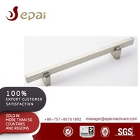 Stainless steel square tube door handle for frame glass door