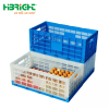 factory price strong plastic foldable egg transport crate