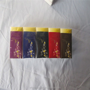 OEM Soft Facial Pocket Pack Paper Line Tissue Paper Handkerchief