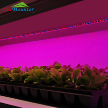 2018 shenzhen high quality vertical custom smd hydroponic systems greenhouse full spectrum strip led grow light bar for plant