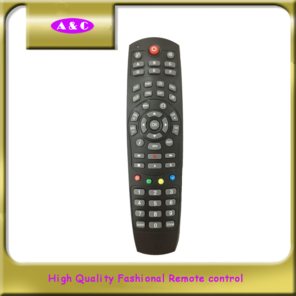 High Quality Wholesale Custom Cheap unique edge design universal remote controller