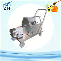 Food process stainless steel small scale 1 stage vacuum pump