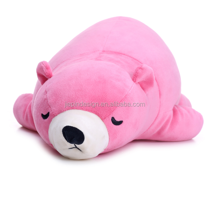 Funny furry super soft comfortable china plush bear toy