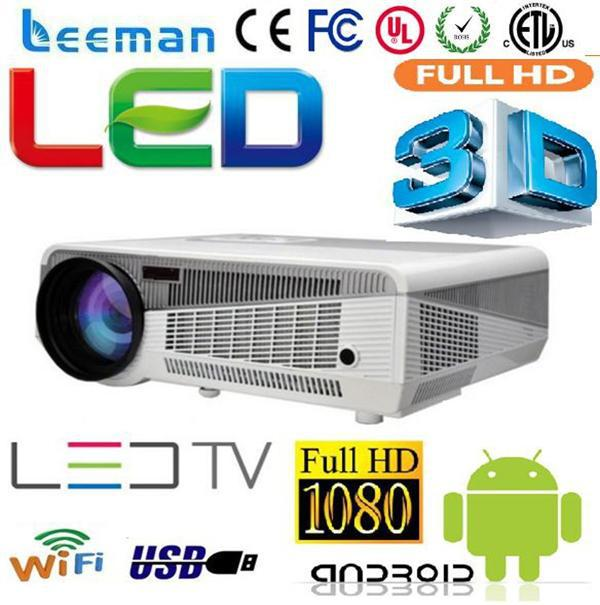 smart projector lcd 3d beam home cinema projector ezcast full hd 3d led tv projector