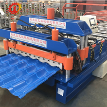 Metal Sheet Roofing Glazed Steel Tile Profile Roll Forming Machine