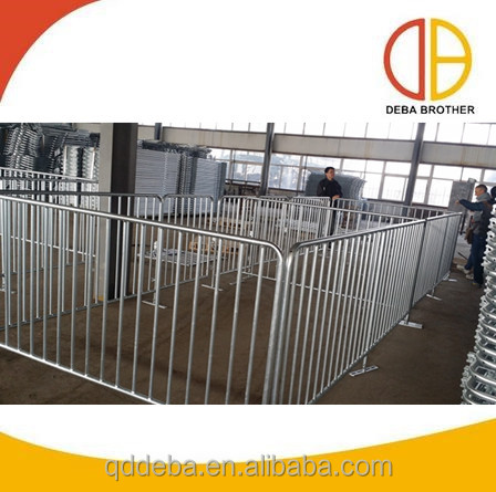 hot galvanized popular finishing crates fatten pig crates