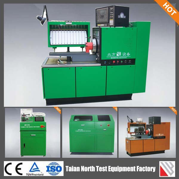 Diesel fuel injection pump test machine with car ecu simulator