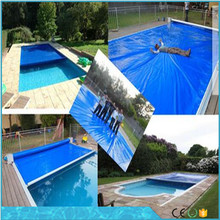 heavy duty water proof uv resistant pool cover hard plastic swimming pool cover