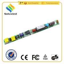 Isolated 18W 25W High PF Led Tube Driver T8 No Flickering Passed CE