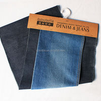 denim factory wholesale used Cheap price denim fabric 98% cotton 2% spandex