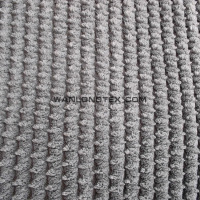 20% Nylon 80% polyester chain Wale corduroy fabric with TC backing for upholstery sofa cover