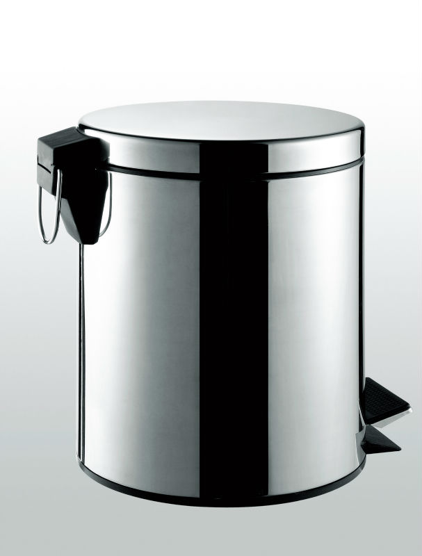 Waste Collecting Container Stainless Steel Office Dustbin 7003-3