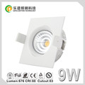 83mm cutout Gyro 2017 arrival new led cob downlight ra97 dim to warm 2000k-2800k IP44 lepu nordic Nemko CE ROHS