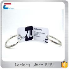 Customized shape printable rfid cards and key rings