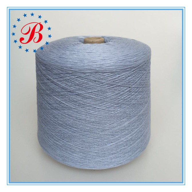 Nm 6/1 100% Linen Yarn / 100% Flax yarn Semi-bleached from China Factory