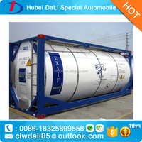40ft ISO fuel LPG Oil Propane storage tank container for sale