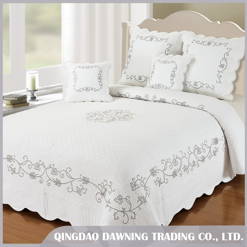 dawning factory price 100% cotton bedding set cotton quilts