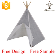Ningbo manufacturer hot sale kids play teepee tent