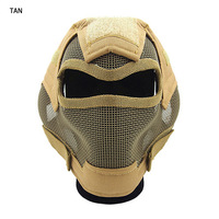 Good design Protective Sport Armor Force Head Army Mask Steel Masks
