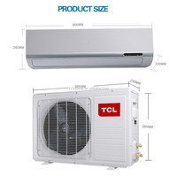 TCL Air conditioner 110V or 220V Hanging double temperature air conditioner energy saving frequency conversion air conditioning