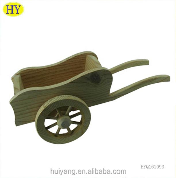Unfinished Trolley Decorative Wood Craft