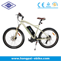 500 watt electric mid-motor pedal assist electric bike (HP-E001)