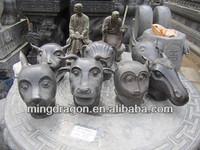 animal stone carvings