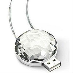 Luxury Crystal Diamond USB Flash Disk / Drive