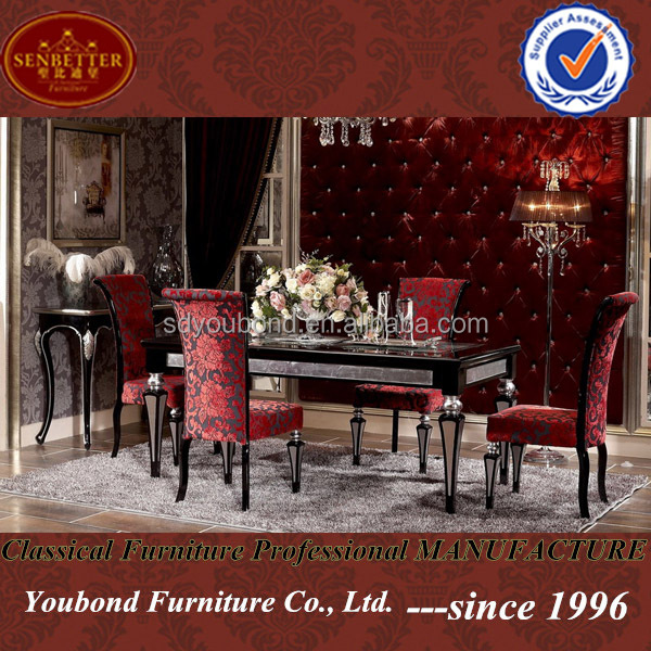 YB07 Italy new design high quality luxury modern dining room furniture