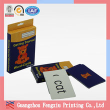 Wholesale High End 4 Color Printing Small Cardboard Box with Slot