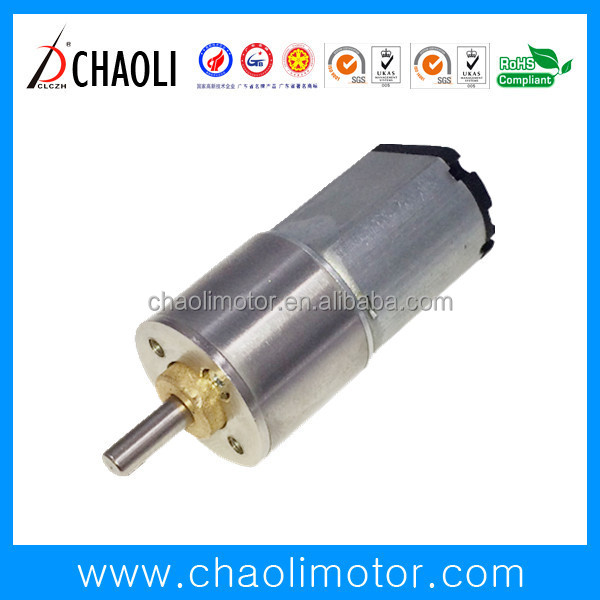 330:1 15mm Gear Motor CL-G16-F030 With Reduction Gear Box For Projector And Car DVD