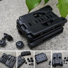 multi functional EDC tool belt clip, used with K sheath / scabbard tools / flashlight waist plastic buckle back buckle