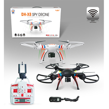 X8 Four Axis rc drone with hd camera Models with real time transfer function