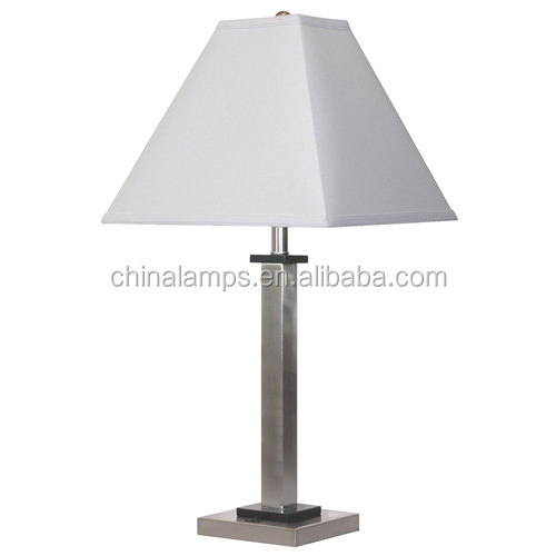 america style usb hotel table lamp with white fabirc. Black Bedroom Furniture Sets. Home Design Ideas