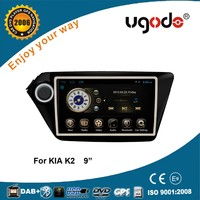 "9"" RK PX3 in dash car radio gps for Kia K2 2011android car gps navigation"