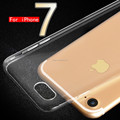 Cell Phone mobile accessories ultra thin transparent tpu shell cover cases for iphone 7