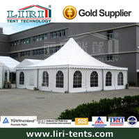 10X10m canopy tent used for small exhbition