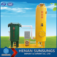 Dry desulfurization system easy to manage biogas purification equipment