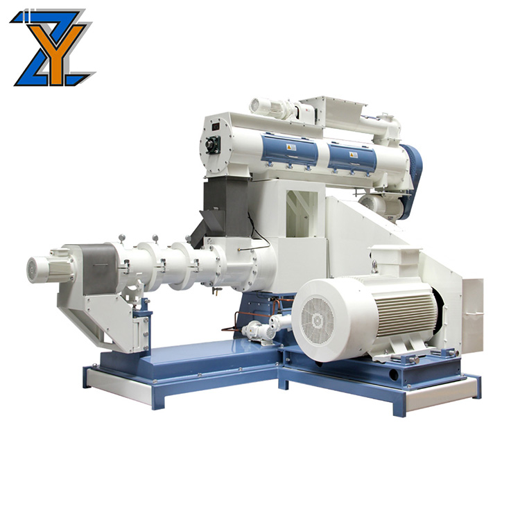 Reliable Quality Grain and floating fish extrusion price feed extruder machine