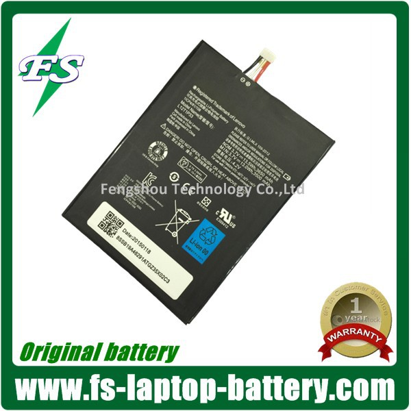 High 3650mAh capacity L12T1P33 replacement tablet battery for Lenovo ideapad A3000 A1000 android tablet removable battery