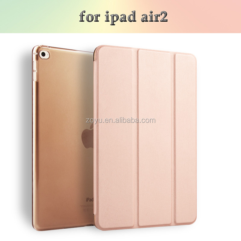 In stock Various designs leather case cover for ipad air 2 case